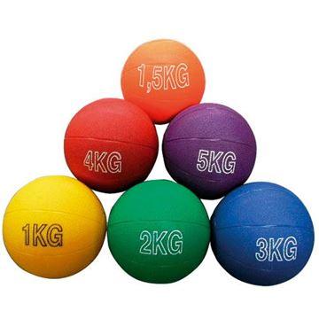 Afbeelding van medecinebal - 1,5kg