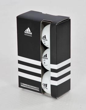 Afbeelding van Trainingsballen Adidas (6, wit of oranje)