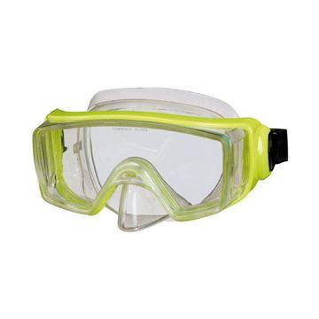 Afbeelding van Duikbril volwassene breed zicht geel