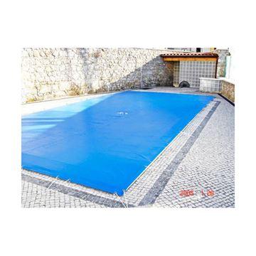 Afbeelding van Afdekzeil voor buitenzwembad, 650g/m², per m²