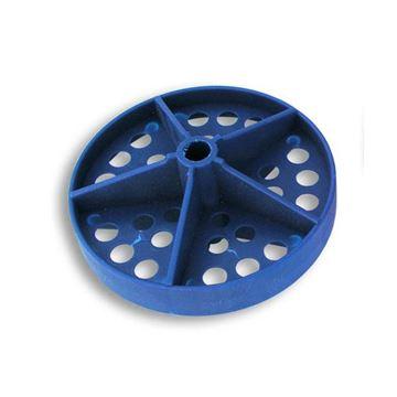 """Afbeelding van Disc met gaatjes voor scheidingslijn, regular, 100mm (4"""")"""
