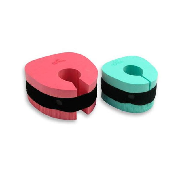Afbeelding van Armbandjes uit foam, 18 tot 30kg - 3 à 6 jaar, per paar