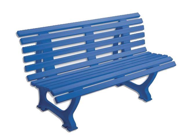 Afbeelding van Zitbank HELGOLAND, L 150cm, 19kg, blauw