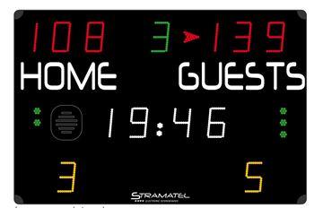 Afbeelding van Elektronisch scorebord multisport COMPACT