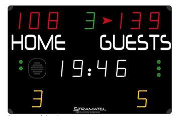 Afbeelding van Elektronisch scorebord multisport COMPACT penalties