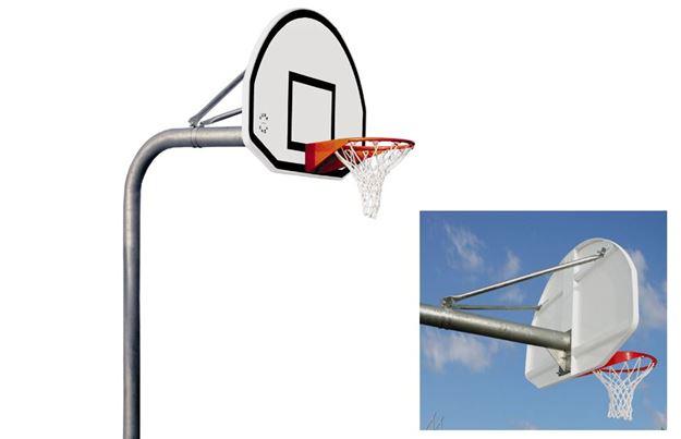 Afbeelding van Basketbaltoren Gooseneck