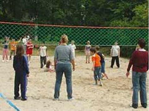 Afbeelding van Volleybalnet Clips