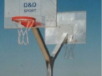 Afbeelding van Basketbal: stalen paal (Y)