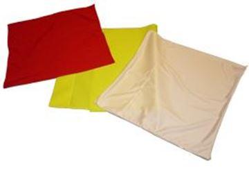 Afbeelding van Cornervlag, rood, per stuk