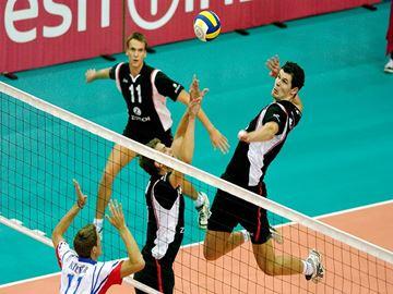 Afbeelding van Volleybalnet competitie DVV1