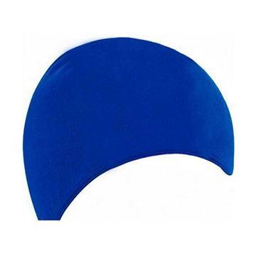 Afbeelding van Badmuts Heren polyester blauw