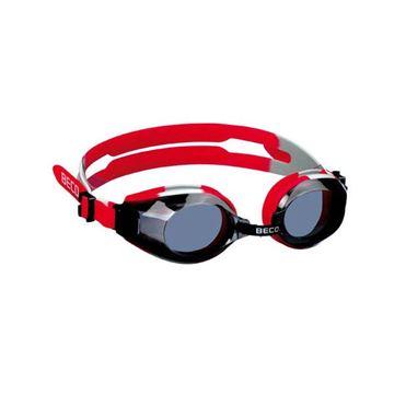 Afbeelding van Zwembril prof / training rood/grijs
