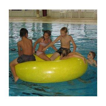 Afbeelding van Aqua zwemring met handgrepen geel
