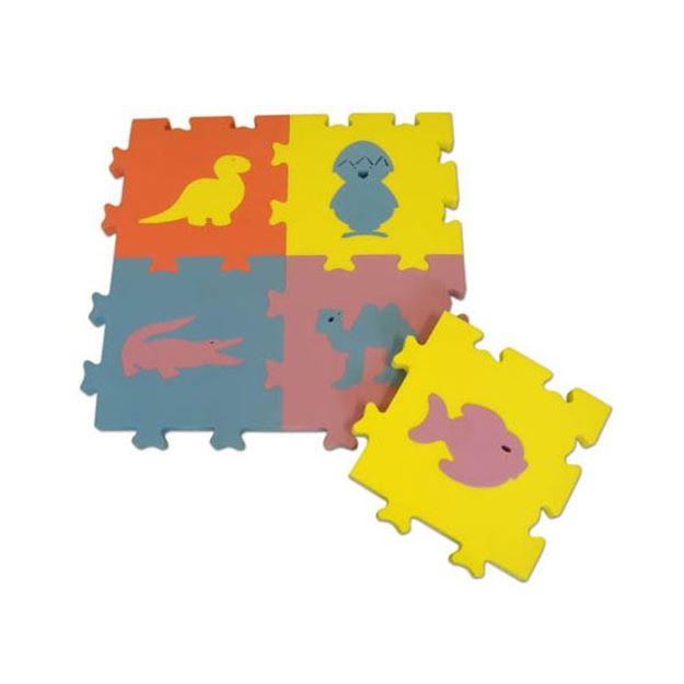 Afbeelding van Dierenpuzzel 10 stuks