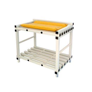Afbeelding van Babyverzorgingstafel met kussen, PVC