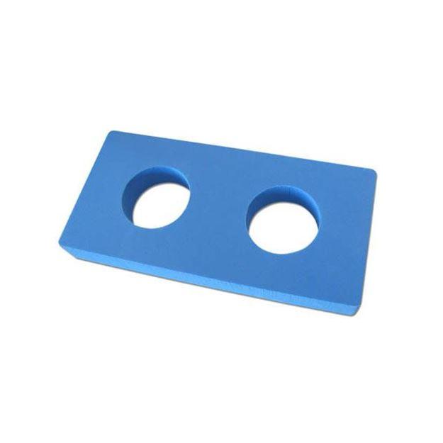 Afbeelding van Connector flexibeams, rechthoeking, 2 gaten, 21x12x3cm, 5st/set