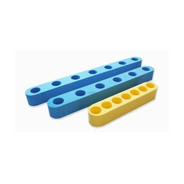 Afbeelding van Connector flexibeam, recht model - 42x10x9cm - 3 gaten