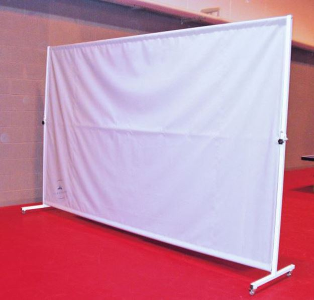 Afbeelding van Verrolbare scheidingswand 4 x 2,5m (plooibaar)