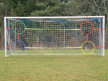 Afbeelding van Banden met 4 ringen voor doelen 5x2m