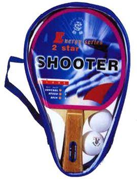 Afbeelding van Set Tafeltennis Shooter