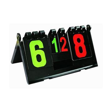 Afbeelding van Scorebord tafeltennis uit hard PVC