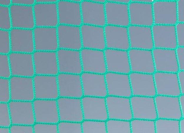Afbeelding van Doelnetten 5x2x1x2m - 3mm - 45/45 - groen