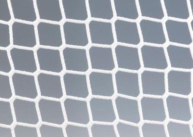 Afbeelding van Doelnetten 5x2x1x2m - 3mm - 45/45 - wit