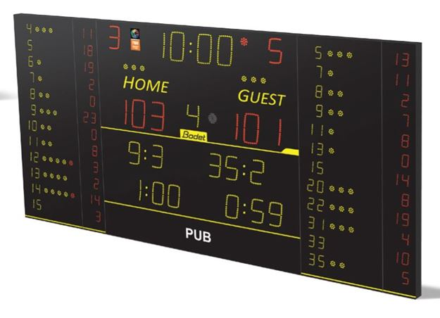 Afbeelding van Scorebord BT8T225-FS10