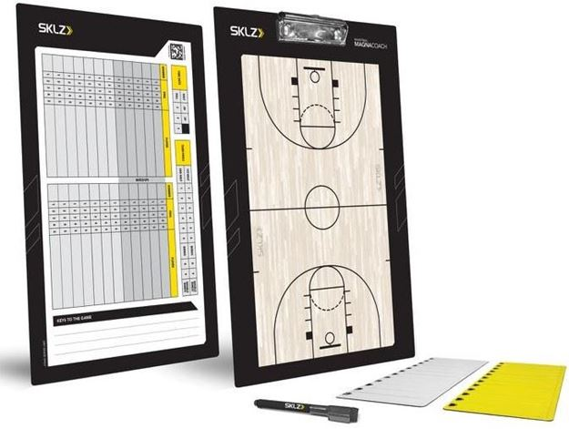 Afbeelding van Basketbal coachbord - tactiekbord SKLZ
