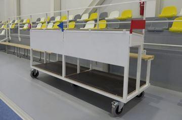 Afbeelding van Official tafel 150cm - 250cm