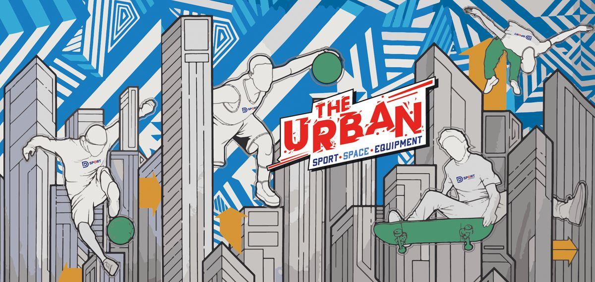 Afbeelding voor categorie Urban Sport Space Equipment