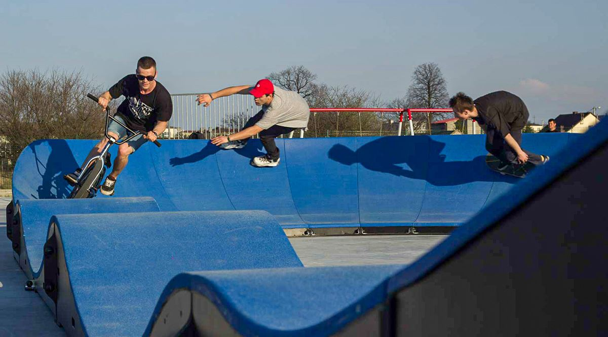 Afbeelding voor categorie Pumptrack - Urban Pumper - BASIS RECHT