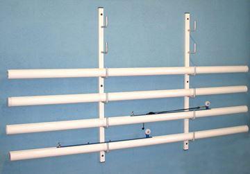 Afbeelding van Wandrek voor volleybalpalen (badmintonpalen, tennispalen)
