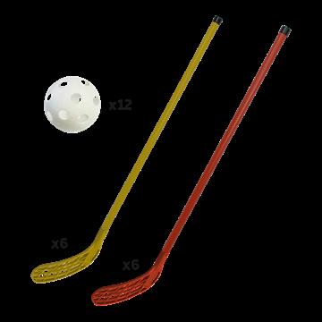 Afbeelding van Set unihockey initiatie set van 12