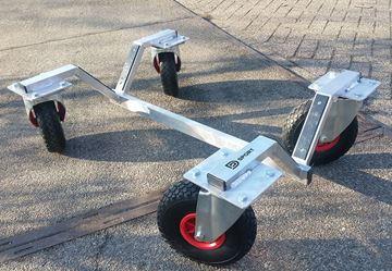 Afbeelding van Transport trolley voor verplaatsbare doelen