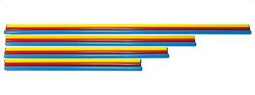 Afbeelding van PVC stok, lengte 80cm