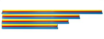 Afbeelding van PVC stok, lengte 140cm