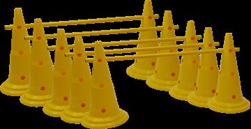 Afbeelding van Kit C: Set van 5 multi-jumps 50cm