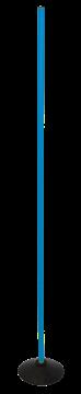 Afbeelding van Slalomstok voor synth. terrein - 160cm - blauw