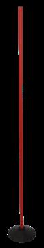Afbeelding van Slalomstok voor synth. terrein - 160cm - rood