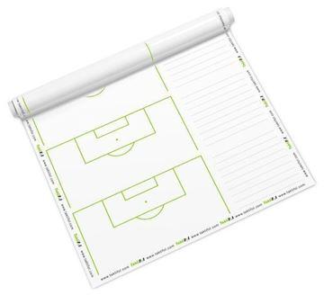 Afbeelding van Taktifol voetbal, half veld