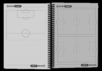 Afbeelding van Notitieblok voetbal A5-formaat