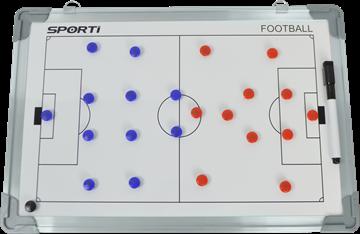 Afbeelding van Muurbord / Tactiekbord Voetbal klein (30x45cm)