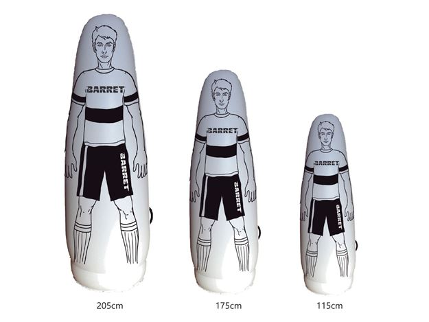 Afbeelding van Opblaasbare mannequin Barret, hoogte  175cm