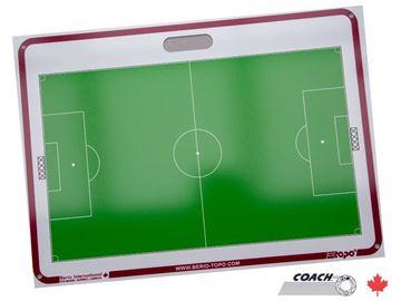 Afbeelding van TOPO Tactiekbord 71x51cm met zuignappen