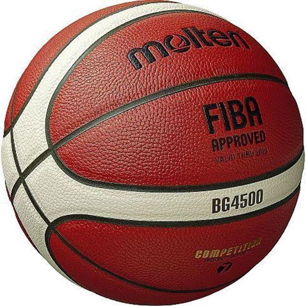 Afbeelding van Molten basketbal B6G4500 (ex B6GGX)