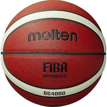 Afbeelding van Molten basketbal B6G4000 (ex B6GFX)