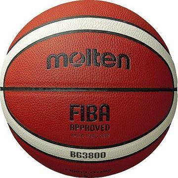 Afbeelding van Molten basketbal B6G3800 (ex B6GMX)