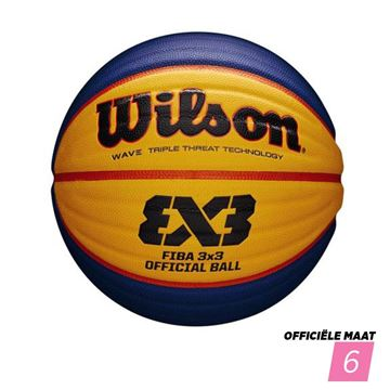 Afbeelding van Wilson FIBA 3x3 GAMEBALL