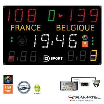 Afbeelding van Elektronisch Scorebord 452MB7100 - PRO